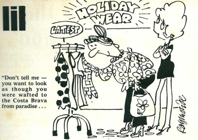 Roy Raymonde Cartoonist Fashion Weekly Lil 1