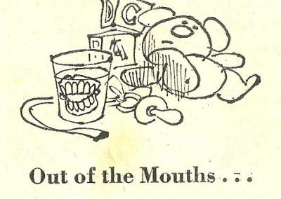 Roy Raymonde Cartoonist Raymonde's Rancid Rhymes Sunday Telegraph 13