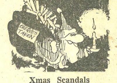 Roy Raymonde Cartoonist Raymonde's Rancid Rhymes Sunday Telegraph 2