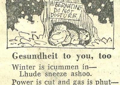 Roy Raymonde Cartoonist Raymonde's Rancid Rhymes Sunday Telegraph 24