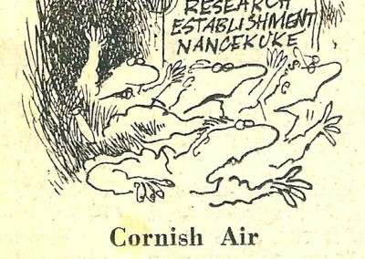 Roy Raymonde Cartoonist Raymonde's Rancid Rhymes Sunday Telegraph 25