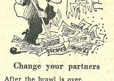 Roy Raymonde Cartoonist Raymonde's Rancid Rhymes Sunday Telegraph 27