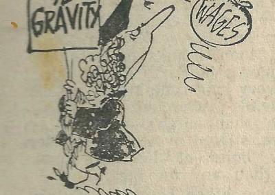 Roy Raymonde Cartoonist Raymonde's Rancid Rhymes Sunday Telegraph 3