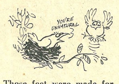 Roy Raymonde Cartoonist Raymonde's Rancid Rhymes Sunday Telegraph 8