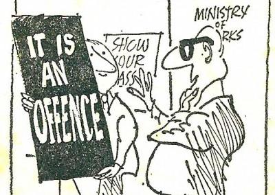 Roy Raymonde Cartoonist Sunday Telegraph - Them 7
