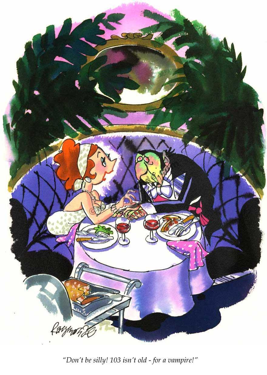 Roy Raymonde Playboy cartoon – 103 isnt old