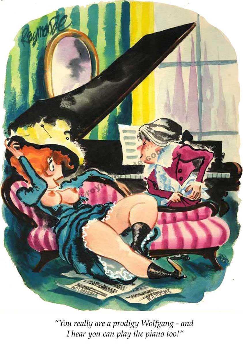 Roy Raymonde Playboy cartoon – youre a prodigy Wolfgang