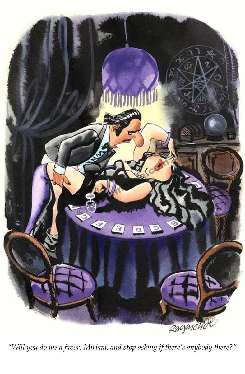 Roy Raymonde Playboy cartoon – is anybody there