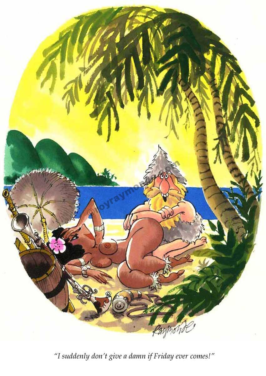 Roy Raymonde Playboy cartoon – Friday ever comes