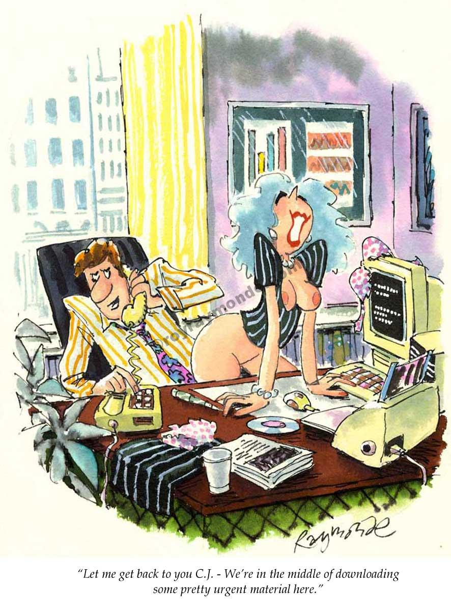 Roy Raymonde Playboy cartoon – urgent material