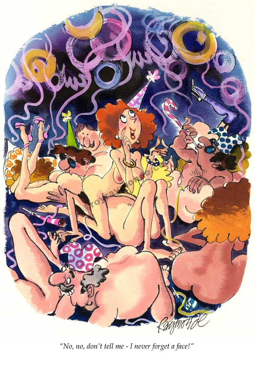 Roy Raymonde Playboy cartoon – never forget a face