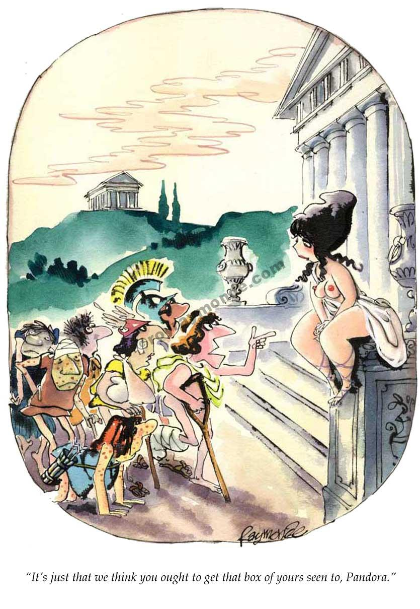 Roy Raymonde Playboy cartoon – Pandoras box