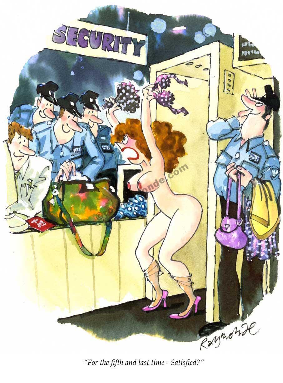 Roy Raymonde Playboy cartoon – Satisfied