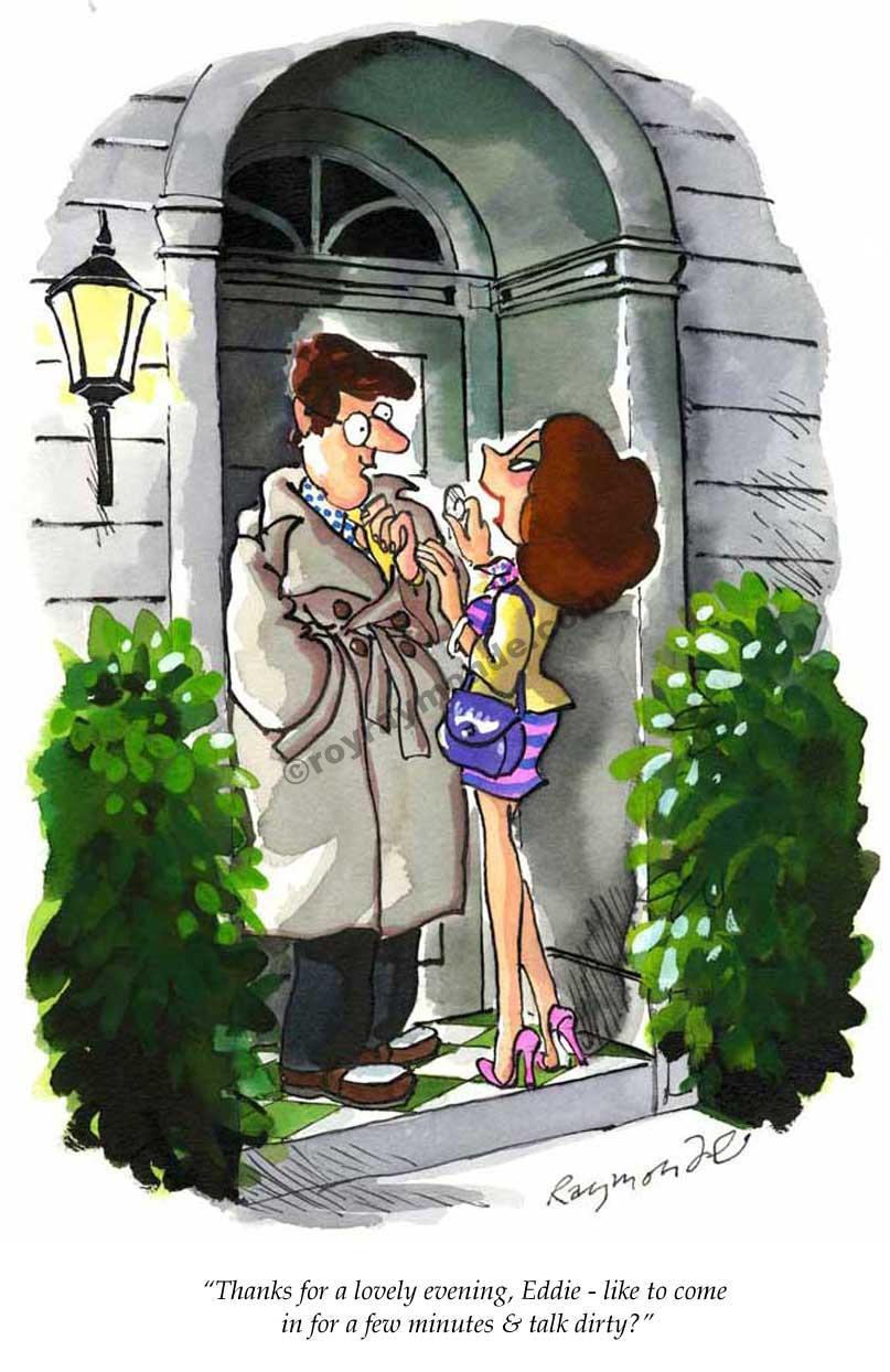 Roy Raymonde Playboy cartoon – talk dirty