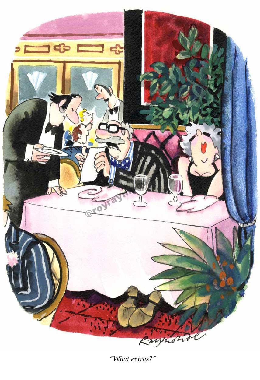 Roy Raymonde Playboy cartoon – what extras
