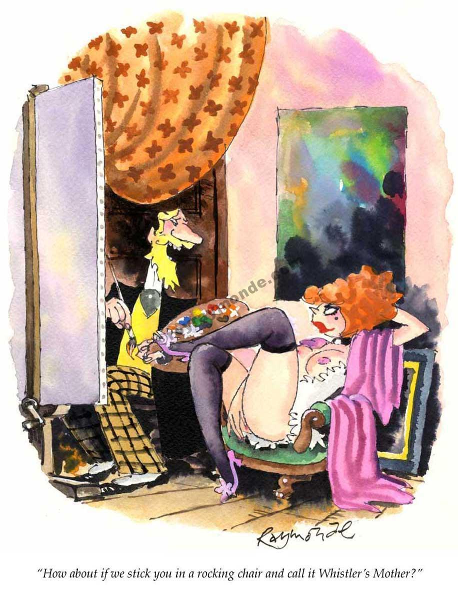 Roy Raymonde Playboy cartoon – Whistlers mother