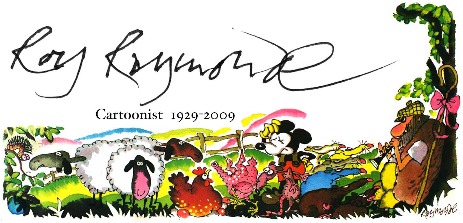 Roy Raymonde Illustration Punch Magazine