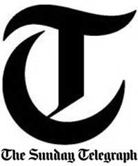 Roy Raymonde Cartoonist Sunday telegraph logo